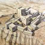 Restitution de la communauté essénienne sur le site de Qumrân. © J.-Cl. Golvin