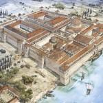 Le palais de Dioclétien entre 300 et 306 apr. J.-C.. @ J.-Cl. Golvin
