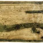 Table de Peutinger, segment VII (Italia et Sicilia). Vienne, Österreichische Nationalbibliothek, Papyrussammlung, cod. 324