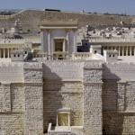 Maquette du palais construit par Hérode à Jérusalem. Cliché B. Werner.