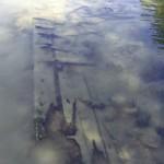 Bordé tribord de l'épave de Grigny. @ A. Lavocat/GRAAL