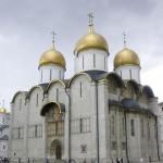 Kremlin de Moscou. Cathédrale de la Dormition (1475-1479) construite par l'architecte Aristote Fioravanti. Cliché Smack, 2004,