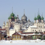 Rostov, vue sur le Kremlin. Cliché E. Kononova, 2006.