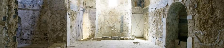 """Le frigidarium dans les """"Thermes de la Chasse"""""""