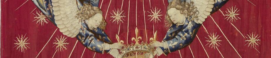 Dais de Charles VII, France, vers 1430-1440, peut-être d'après Jacob de Littemont. Paris, musée du Louvre. © RMN/M. Beck Coppola.