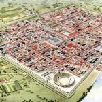 Avec une surface de 73ha, la colonia Ulpia Traiana (Xanten) faisait partie des plus grandes villes du nord-ouest de l'empire. © Horst Stelter, LVR-Archäologischer Park Xanten/LVR-RömerMuseum.