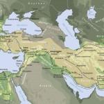 Carte de l'empire d'Alexandre (334-323 av. J.-C.). © Archéothéma