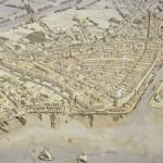 Évocation du port de Lattara aux IIIe-IIe siècles avant notre ère. © J.-Cl. Golvin.