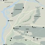 Glanum: environnement physique, voies et sites de l'âge du Fer (oppida).