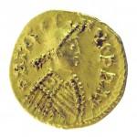 Godomar (524-534), tiers de sol au nom de l'empereur Justin Ier (518-527)
