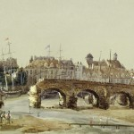 Thomas Smith Cafe (juillet 1830), L'ancien pont du Pollet en 1830.