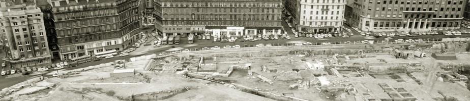 Marseille. Chantier de la Bourse. Photothèque CCJ.