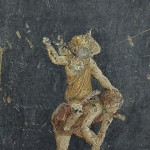 Saute-mouton (?), Pompéi, Casa dei Vettii. © Soprintendenza speciale per i beni archeologici di Napoli e Pompei.