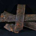 Faisceau d'épées de Gournay-sur-Aronde. Photo Antoine Vivenel.