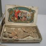 Boîte à cigare utilisée par le Kunstchutz pour conditionner des objets archéologiques. Photo service de presse.