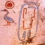 Le cartouche du roi Senebkey. © Ministère égyptien des Antiquités.