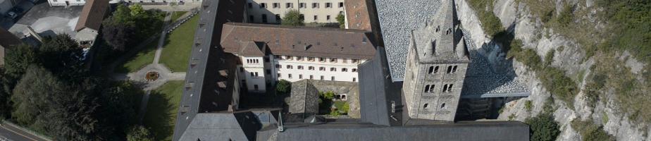 Vue générale de l'abbaye. © Filmic/Berrut