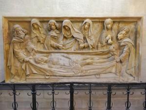 Chapelle Vieille Souvigny. Mise au Tombeau. © Paul Saccard.