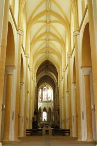 Souvigny. Église prieurale. Nef. © Paul Saccard.
