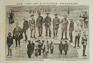 Revue «Excelsior» du 5 septembre 1916.  © DR/musée de l'Air et de l'Espace.