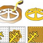 Reconstitution des étapes du processus métallurgique employé pour produire l'amulette de Mehrgarh. Un modèle a été façonné à partir d'un matériau ductile et qui fond à basse température tel que la cire d'abeille. Les différents colombins de cire ont été soudés l'un à l'autre par un léger chauffage de leurs extrémités. Le modèle en cire a été enrobé d'argile pour former un moule. Le moule a été chauffé pour évacuer la cire, puis cuit à haute température. Le cuivre a ensuite été versé dans le moule et a rempli le volume préalablement occupé par le modèle. L'objet en cuivre a été extrait en brisant le moule après refroidissement. Une fois abandonné dans le sol, le cuivre s'est lentement corrodé jusqu'au cœur de l'objet, sous forme d'hydroxychlorures dans les dendrites (vert) et d'oxyde cuivreux dans la zone interdendritique (rouge). Image L. Bertrand, T. Séverin-Fabiani, S. Schoeder © IPANEMA CNRS MCC UVSQ / Synchrotron SOLEIL.