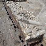 Aménagements de quai, époque romaine. © Archeodunum SA.
