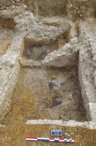 Vue d'ensemble de la cave. © Archeodunum SAS.