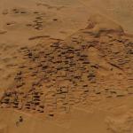 Photo aérienne de la fouille en décembre 2017. © Vincent Francigny/Mission archéologique de Sedeinga.