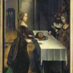 Juan de Flandes, Le Festin d'Hérode, vers 1496-1499, huile sur bois, Anvers, musée Mayer van den Bergh. © musée Mayer van den Bergh. Photo service de presse.
