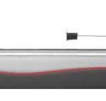 Vue latérale de l'expérience d'eaux- mortes en laboratoire pour une force de  traction donnée. © Pprime (CNRS). Image service de presse.