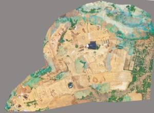 La zone de fouilles s'étend sur près de 60 ha, et un grand nombre de tombes, de fours à poterie, de fossés et des fosses à cendres, datés de l'ère des Royaume Combattants aux dynasties Ming et Qing, ont été découverts. © Institut provincial des vestiges culturels et archéologiques du Sichuan. DR.