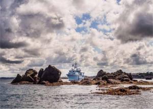 Le nouveau navire français d'archéologie marine, l'Alfred Merlin, va enquêter sur les épaves du monde entier. Photo  : Teddy Seguin/DRASSM.