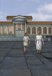 Forum antique de Bavay. © De Pinxi. Photo de presse.