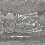 Le squelette découvert 300 mètres sous terre - P.-J. Rey/Laboratoire Edytem.