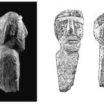 Bustes en métahornblen - dite découverts dans la résidence. DR.