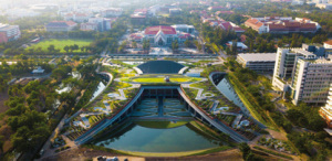 La plus grande ferme urbaine sur toit en Asie 2020 © LANDPROCESS. Photo de presse.