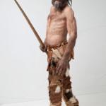 Reconstitution d'Ötzi  par Kennis ©  Musée d'archéologie du Tyrol du Sud - A. Ochsenreiter. Photo de presse.